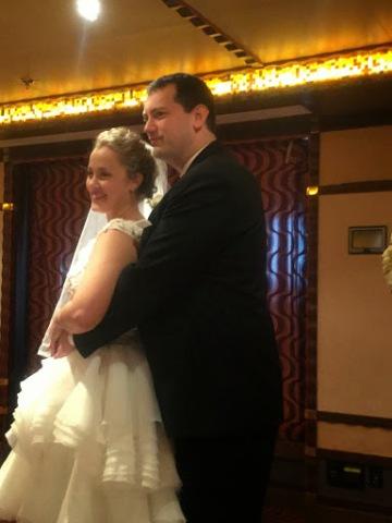 Chris and Sarah wedding